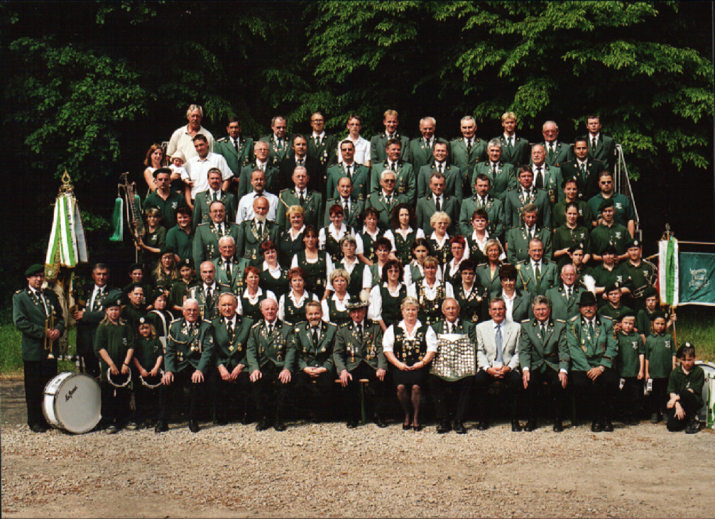 Der Schützenverein Velpke im Jubiläumsjahr 2001