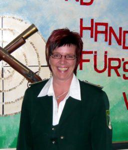 1. Damenleiterin des Schjützenverein Velpke Susanne Heinzel