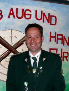 Hauptmann des Schützenverein Velpke Olav Heinzel