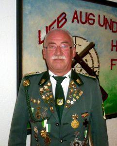 Pressewart & Nadelwart des Schützenverein Velpke Hans-Joachim Fehrmann