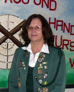 1. Schatzmeisterin des Schützenverein Velpke Frauke Winter