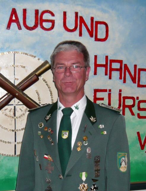 Seniorenleiter des Schützenverein Velpke Thomas Winter