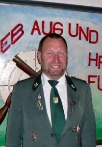 2. Vorsitzender des Schützenverein Udo Tewes