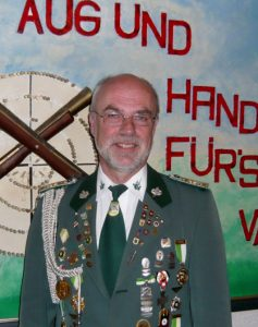 Zugführer des Schützenverein Velpke Jürgen Dau